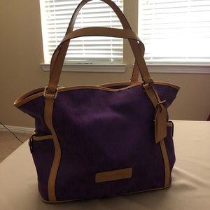 Dooney & Bourke Orchid Purple Large Satchel Bag